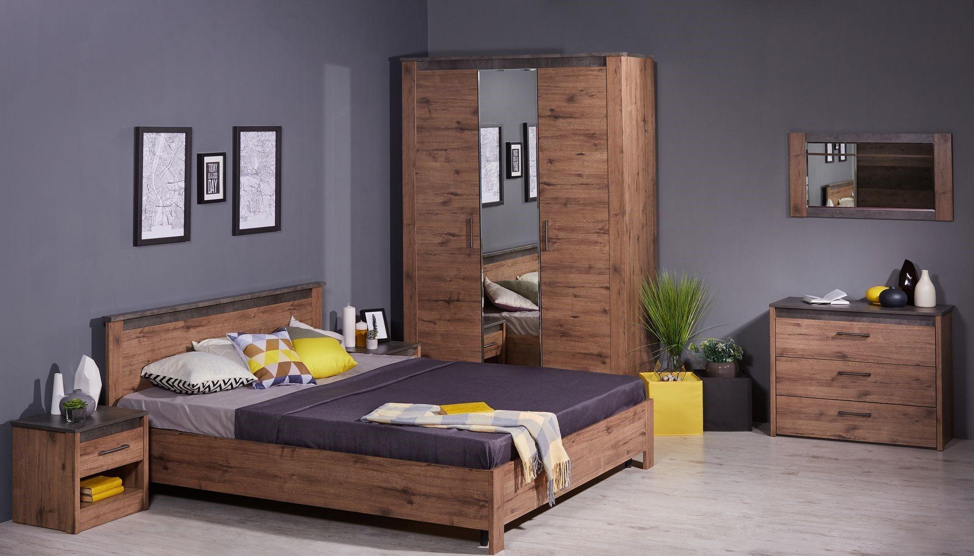 """Спальня """"Денвер"""" (возможный вариант комплектации) купить в интернет-магазине «Мебельной фабрики SbkHome»"""